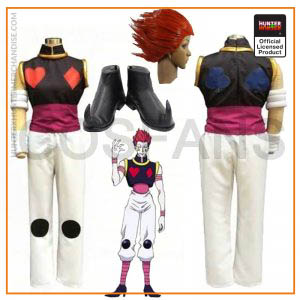 Hunter X Hunter Hisoka Cosplay Costume Halloween Chrismas Carvinal Party Costumes For Women Men Wigs and shoes custom made